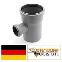 Тройник PP 110/50х87 внутренней канализации Ostendorf HT Германия