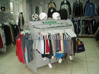 Экспопанели для магазинов спорттоваров