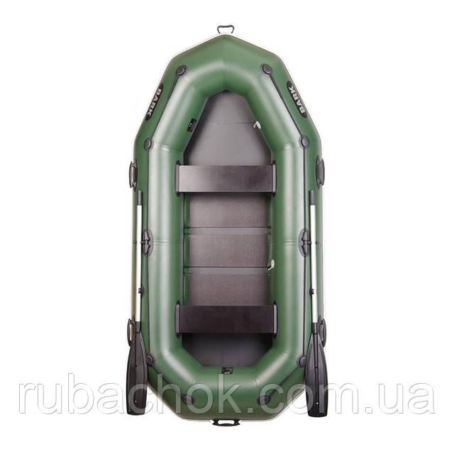 Трехместная гребная надувная лодка Bark (Барк) В-280Р