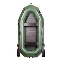 Тримісна гребний надувна лодка Bark (Барк) В-280Р, фото 1