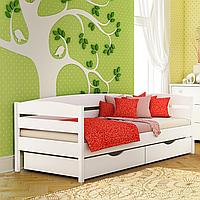 Кровать детская деревянная Нота Плюс