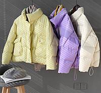 Женская крутейшая куртка оверсайз в самых трендовых расцветках, фото 1