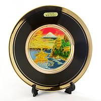 Японская сувенирная тарелка «Достопримечательности Японии»