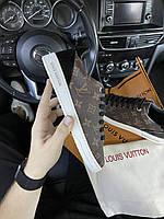 Louis Vuitton Sneakers Brown (Коричневый) Кроссовки Луи Витон, Люкс
