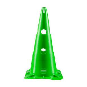 Фишки (конусы) разметочные зеленые с отверстиями h-38см, фото 2
