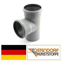 Тройник PP 110/110х87 внутренней канализации Ostendorf HT Германия