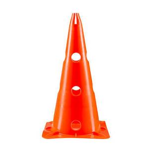 Фишки (конусы) разметочные оранжевые с отверстиями h-38см, фото 2