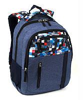 Рюкзак ортопедический молодежный мозайка 40*28*20см