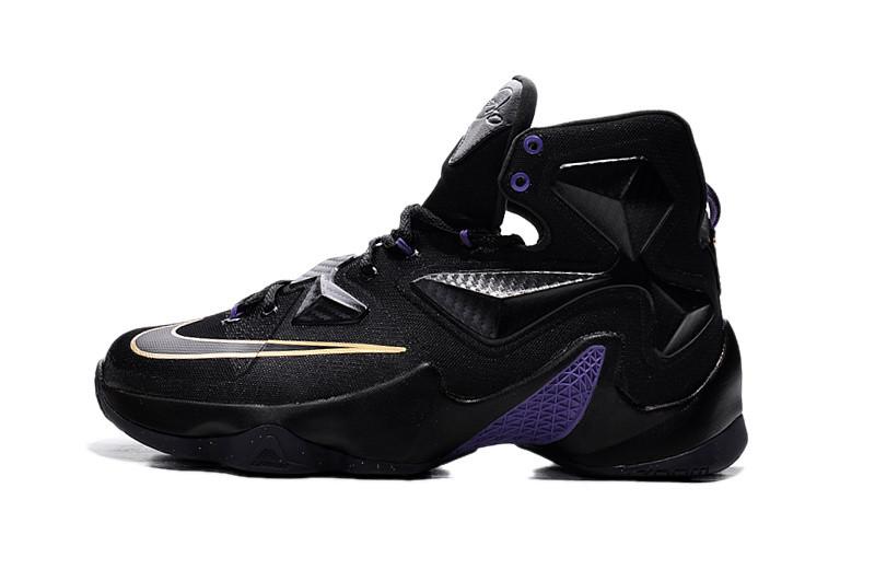 Баскетбольные Кроссовки Nike Lebron 13 Черные — в Категории