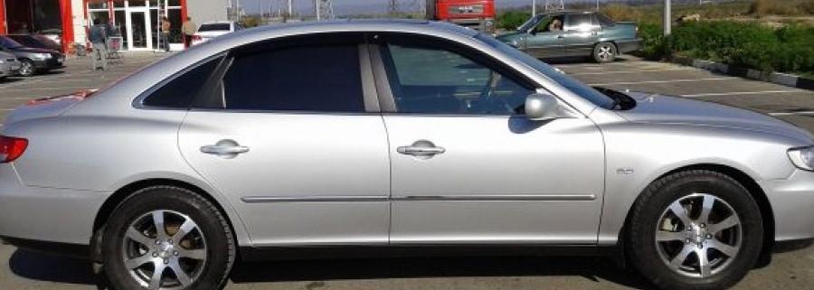 Вітровики Тойота Ауріс   Дефлектори вікон Hyundai Grandeur IV Sd 2005-2011