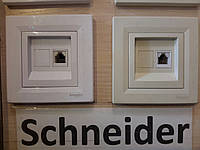 Розетка интернет Asfora Schneider
