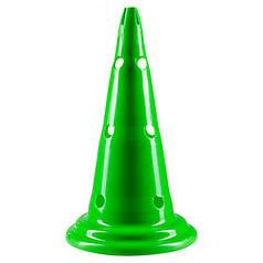 Фишки (конусы) разметочные с отверстиями зеленые h=50см