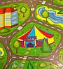 """Развивающий коврик для детей """"Дорога"""" XXL 2000x1100x12мм, фото 2"""