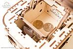 Шкатулка с секретом UGEARS Механический 3D пазл конструктор из дерева, фото 8