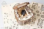 Шкатулка с секретом UGEARS Механический 3D пазл конструктор из дерева, фото 7
