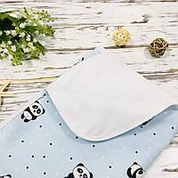 Пеленка непромокашка для новорожденных Lukoshkino ® Размер 100*80 №43