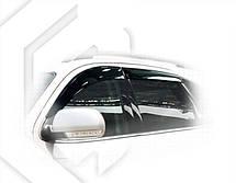 Дефлекторы окон Hyundai Veracruz 2007   Ветровики Хюндай Веракруз