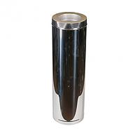 Дымоходы из нержавейки Kraft 150/220 мм (нержавейка в нежавейке) и утепление минеральная вата