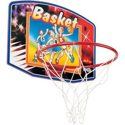 Кольцо баскетбольное, щит 61*46*0.9 см, фото 2