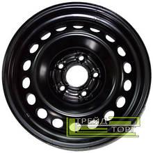 Диск колісний Renault Duster Fluence Megane 3 6.5x17 5x114.3 ET40 DIA67,1 Black чорний SKOV Steel Wheels
