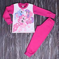 Теплая пижама для девочки Понни с начесом 98-128 см