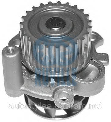 Помпа водяная A3, A4, VW Passat B5, Golf4 ,T5, Caddy, Octavia1.8T 2.0 (пр-во DELLO 30121001106AL)
