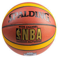 Мяч баскетбольный Spald PVC7 WideChannel King