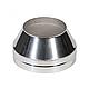 Дымоход из оцинковки Kraft 130/200 мм (нержавейка в оцинковке) и утепление минеральная вата, фото 2
