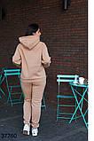 Осенний женский спортивный костюм штаны + кофта р. 50-52, 54-56, 58-60, 62-64, фото 8