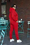 Осенний женский спортивный костюм штаны + кофта р. 50-52, 54-56, 58-60, 62-64, фото 6