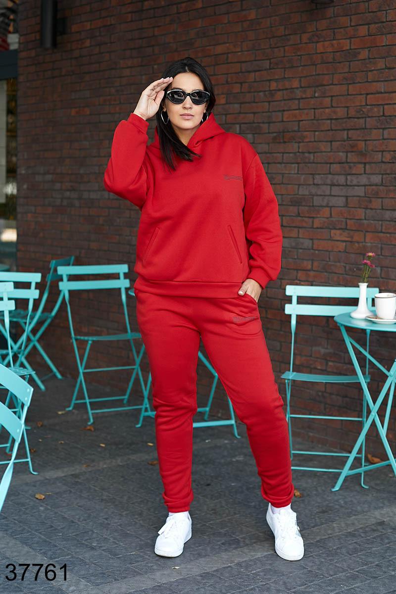 Осенний женский спортивный костюм штаны + кофта р. 50-52, 54-56, 58-60, 62-64