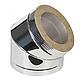 Дымоход из оцинковки Kraft 180/250 мм (нержавейка в оцинковке) и утепление минеральная вата, фото 6