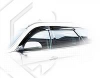 Ветровики Хюндай Санта Фе   Дефлекторы окон Hyundai Santa Fe III 2012, фото 1