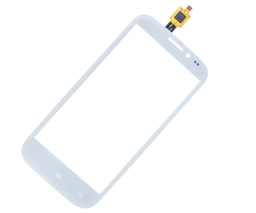 Тачскрин для Fly IQ4404 Белый (cенсор, сенсорный экран, touch screen) Флай 4404