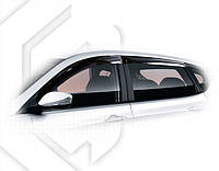 Дефлекторы окон Hyundai Solaris Hb 2011 | Ветровики Хендай Солярис