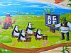 """Детский игровой коврик для ползания ребенка """"Мадагаскар"""" 2000x1200x10мм, фото 2"""