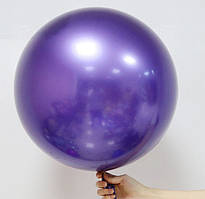 Воздушный шар bubbles хром фиолетовый 45 см