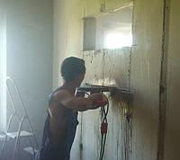 Безпыливая резка,расширение проемов,демонтаж,штробы в Харькове, фото 1