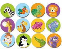 """Карточки для малышей """"Найди парочку"""" (24 шт),плотный картон,memo,найди пару,dodo 300157"""
