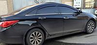 Ветровики Хюндай Соната | Дефлекторы окон Hyundai Sonata VI Sd 2009