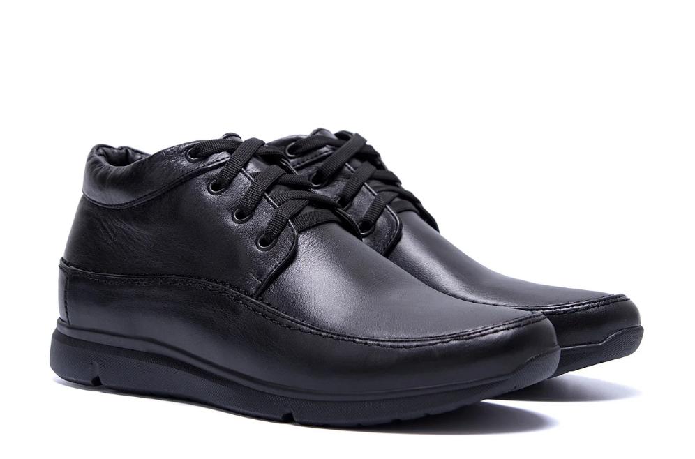 Мужские зимние кожаные кроссовки VanKristi