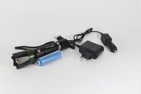 Фонарик двухрежимный ультрафиолетовый и обычный BL 7030  99000W