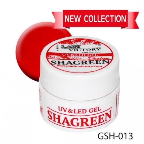 "Гранулированный сахарный гель ""Shagreen"" Lady Victory GSH-013, 5 мл"