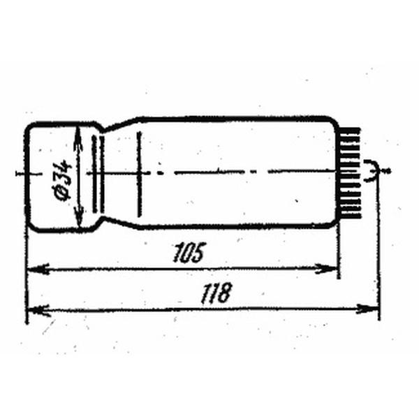Лампа ФЭУ-84-6 Фотоэлектронный умножитель