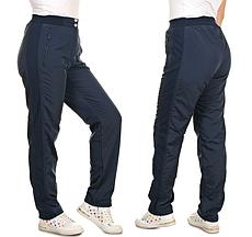 Жіночі зимові штани з плащової тканини на флісі розміри 54-56 Різні кольори