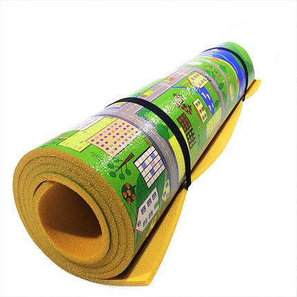 """Детский игровой коврик """"Парковый городок"""" 1200x600x8мм (Теплоизоляционный), фото 2"""