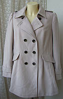 Пальто женское элегантное бренд Marks&Spencer р.50-52 4023
