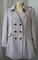 Пальто женское элегантное бренд Marks&Spencer р.50-52 4023, фото 1