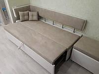 Кухонный диван с боковой спинкой и спальным местом «Тorino D», фото 1