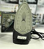 Електричний Паровий Праска з Керамічним Покриттям Прасувальний 2400 Ватт Sokany SK-6028, фото 5